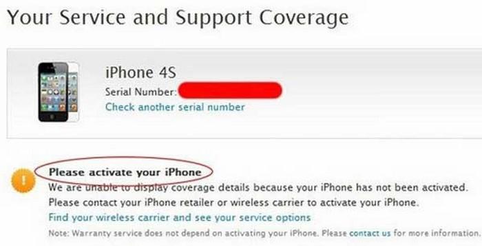 """""""Please active your iPhone"""" có nghĩa là iPhone của bạn chưa được Active"""