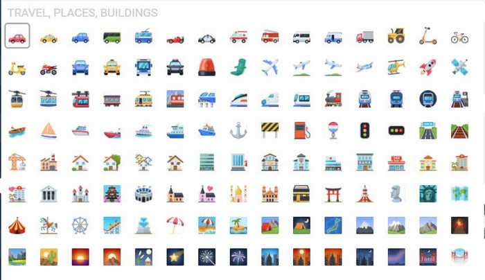 iCon facebook du lịch địa điểm tòa nhà (Travel, Places, Buildings)