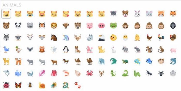 icon facebook động vật (Animals)