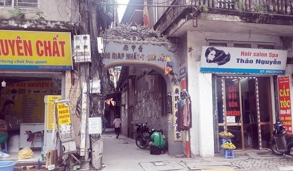 Sản phẩm giảm cân có địa chỉ tại ngõ 663 Trương Định - thuộc làng Giáp Nhất, Thịnh Liệt