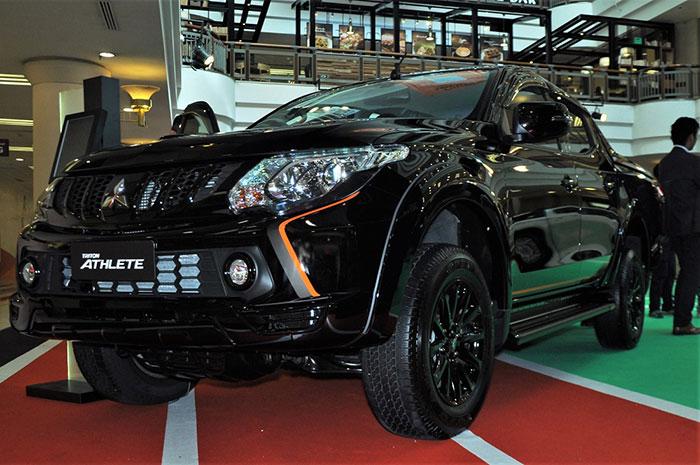Mitsubishi Triton Athlete đang được mở bán với giá 746 triệu đồng