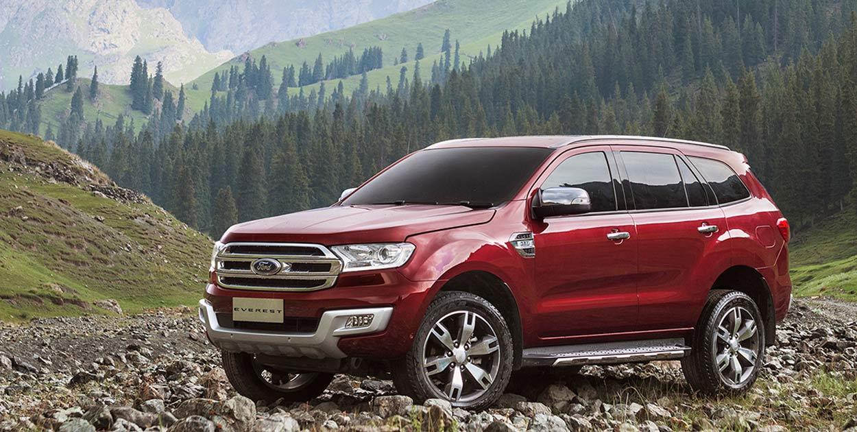 Ford Everest tháng 6/2018: Thêm 2 phiên bản mới