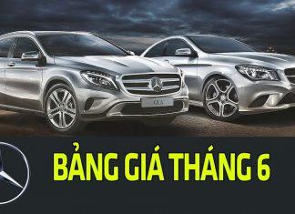 Bảng giá chi tiết dòng xe Mercedes-Benz tháng 6/2018 tại Việt Nam