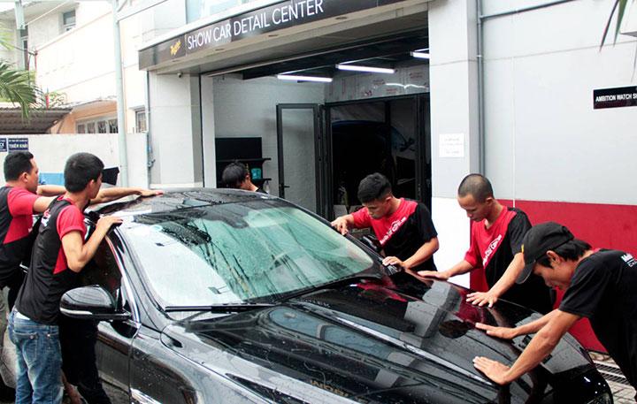 Phương pháp rửa xe chuẩn quy trình