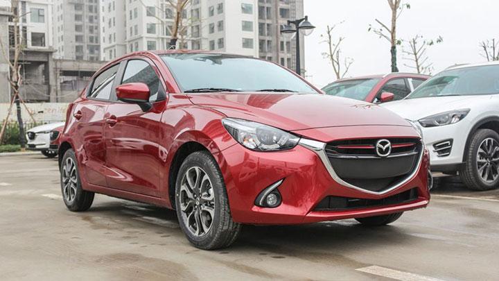 giá xe Mazda 2 tháng 7/2018