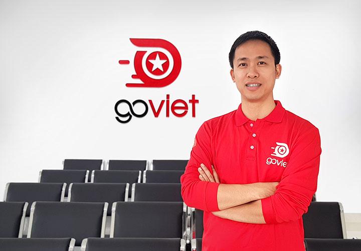 Ông Nguyễn Vũ Đức, CEO và Đồng sáng lập GO VIET