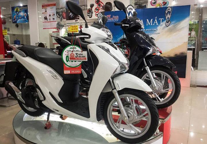 Giá xe Honda SH tháng 7 2018