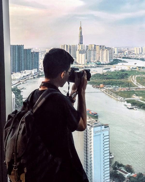 Dạo một vòng Instagram, không khó để bắt gặp biểu tượng mới của Sài Gòn xuất hiện trong những tấm ảnh được giới trẻ check-in. Ảnh: @minhmigoi.