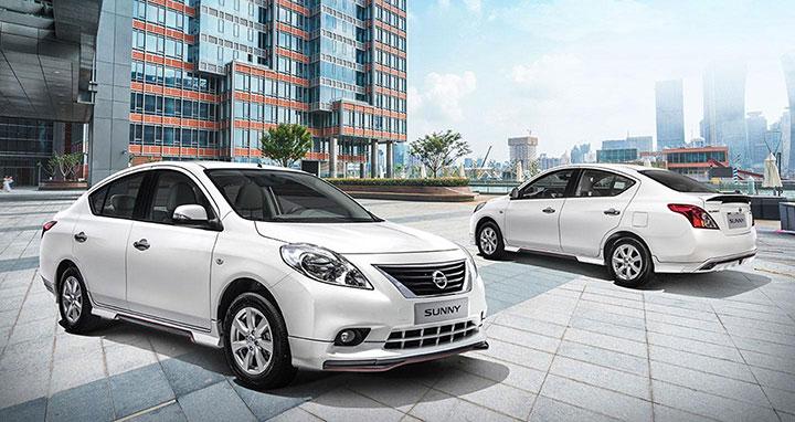 Bảng giá bán xe ô tô Nissan Sunny tháng 7/2018