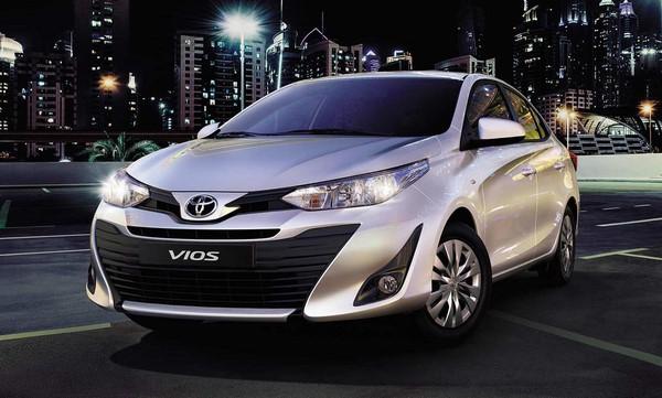 Giá xe Toyota Vios mới nhất tháng 8/2018