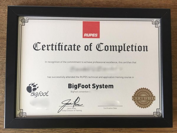 chứng chỉ Certified Installer