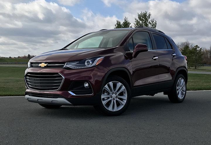 Giá xe Chevrolet Trax mới nhất tháng 7/2018