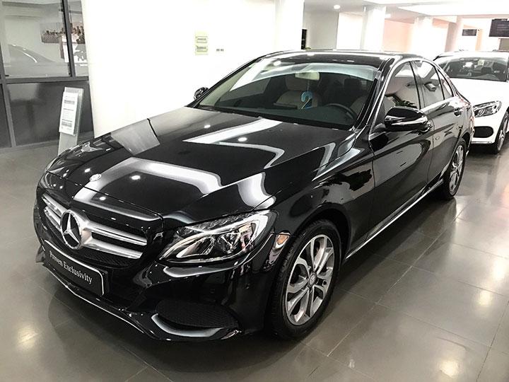 Bảng giá xe Mercedes C200 tháng 7/2018