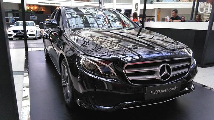 Bảng giá bán xe Mercedes E200 tháng 7/2018
