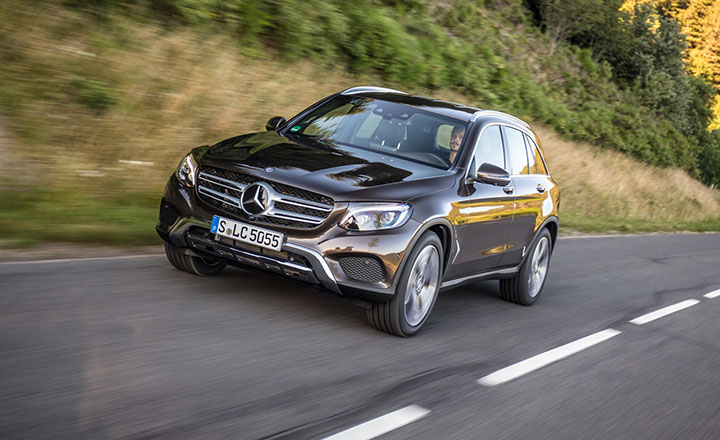 Bảng giá bán xe Mercedes-Benz GLC-Class tháng 7/2018