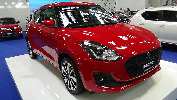 giá xe ô tô Suzuki Swift tháng 7/2018