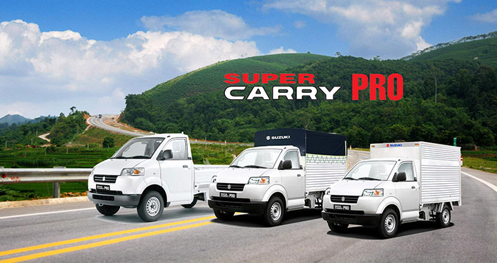 giá bán ô tô Suzuki Carry Pro tháng 7/2018