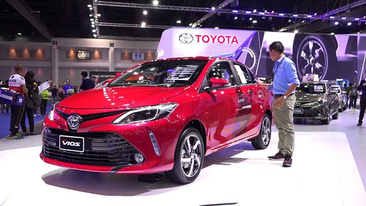Giá xe Toyota Vios tháng 7/2018