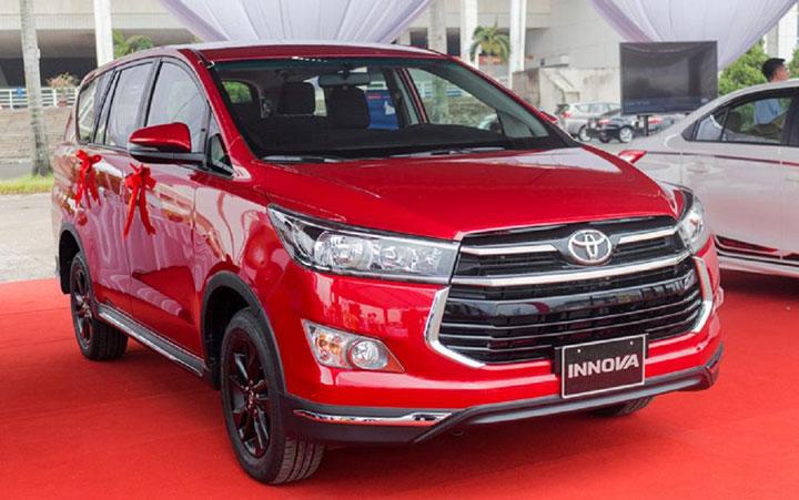 Giá xe Toyota Innova tháng 7/2018
