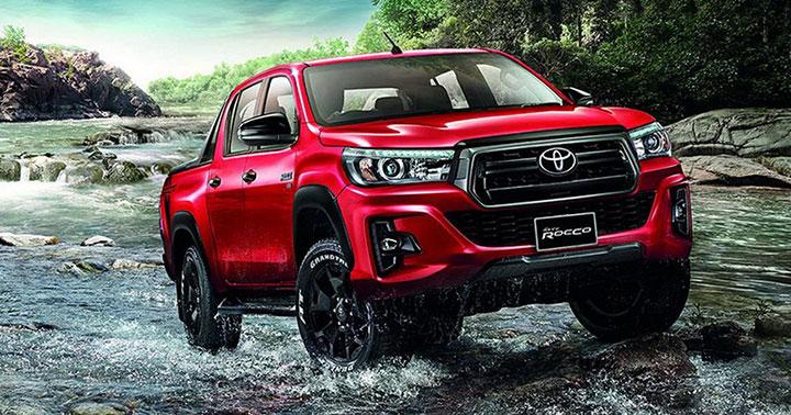 Giá xe Toyota Hilux tháng 7/2018