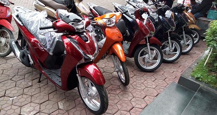 Bảng giá xe máy Honda tháng 7/2018 tại Việt Nam