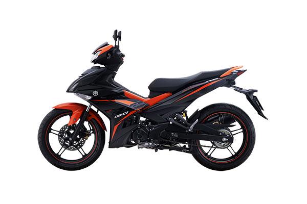 Yamaha Phiên bản RC màu Cam đen