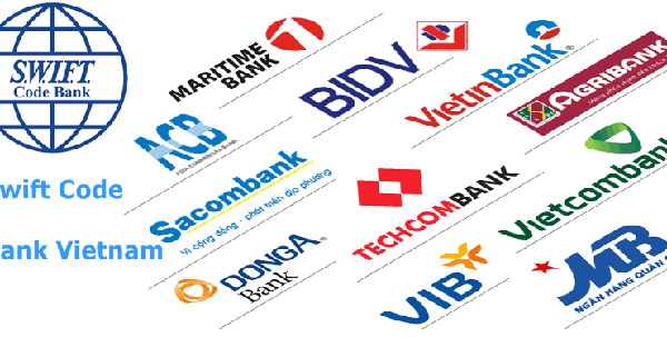 Tổng hợp mã SWIFT/BIC code của các ngân hàng Việt Nam