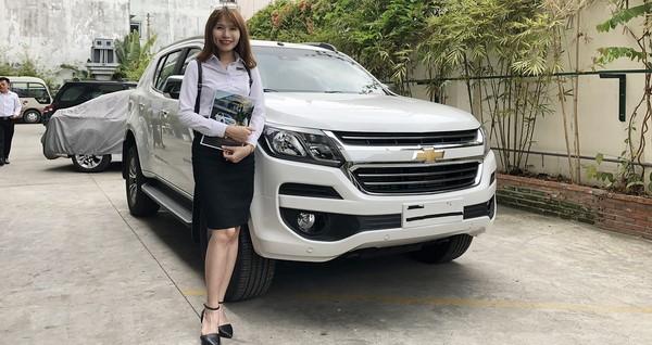 Giá xe Chevrolet Trailblazer mới nhất tháng 8/2018