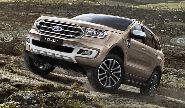 Giá xe Ford Everest tháng 8/2018