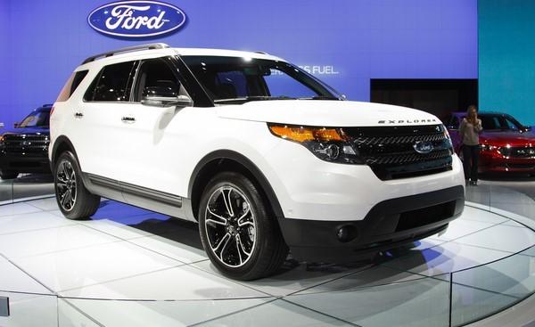 Giá xe Ford Explorer tháng 8/2018