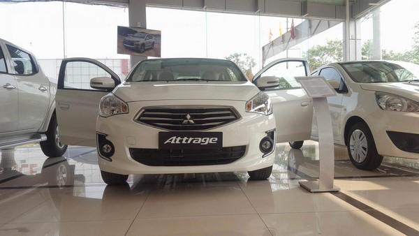 Giá xe Mitsubishi Attrage tháng 8/2018