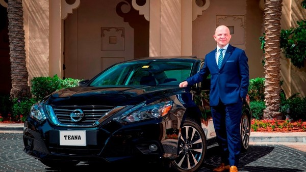 Bảng giá xe Nissan Teana tháng 8/2018