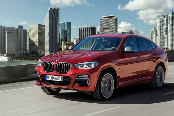 Giá xe BMW X4 tháng 8/2018