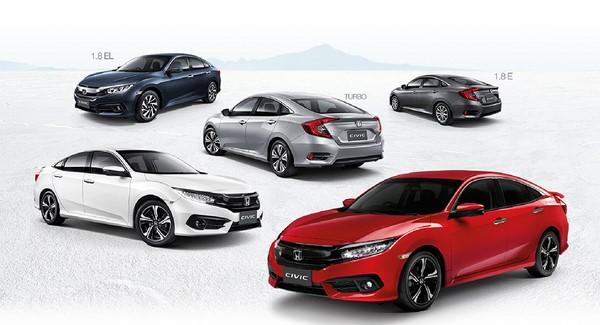 Giá xe Honda Civic mới tháng 8/2018