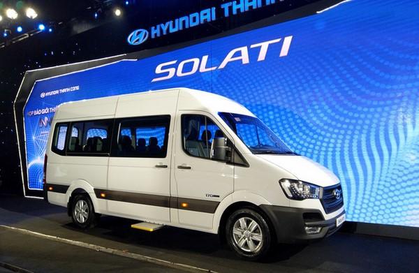 Giá xe Hyundai Solati tháng 8/2018