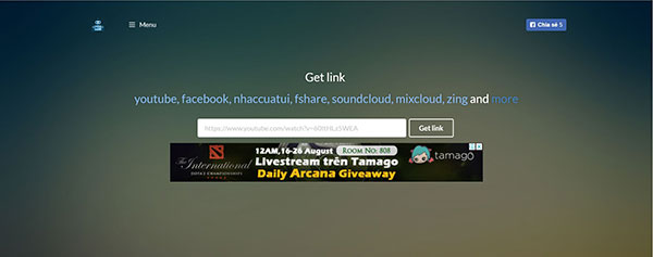 Get link Fshare, 4Share với Linkvip.info
