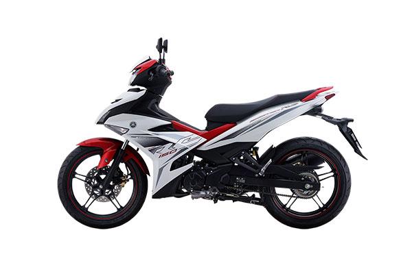 Yamaha Phiên bản RC màu Trắng đỏ