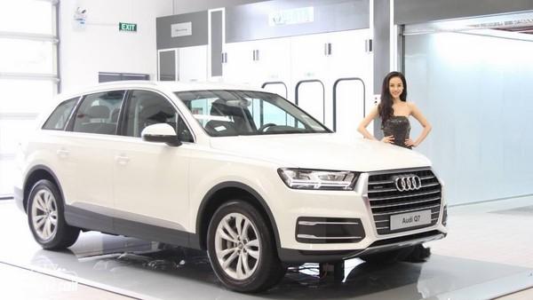 Giá xe Audi Q7 tháng 9/2018