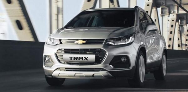 Giá xe Chevrolet Trax mới nhất tháng 9/2018