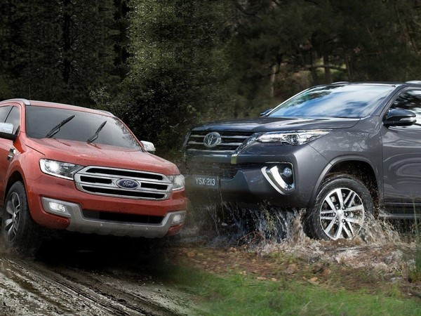 Giá xe Ford Everest tháng 9/2018