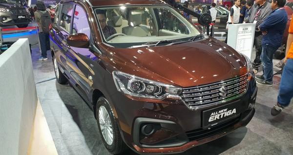 Giá xe Suzuki Ertiga tháng 9/2018 mới nhất