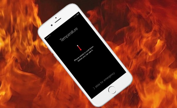 Nguyên nhân và cách hạ nhiệt cho iphone bị nóng khi đang sử dụng