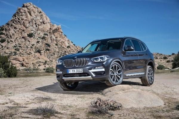 Giá xe BMW X3 mới nhất tháng 10/2018