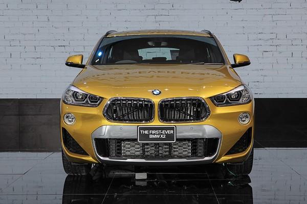 BMW X2 dự kiến sẽ được giới thiệu với khách hàng Việt vào cuối tháng 9 - đầu tháng 10 tới
