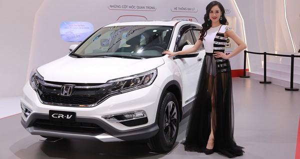 Giá xe Honda CR-V tháng 10