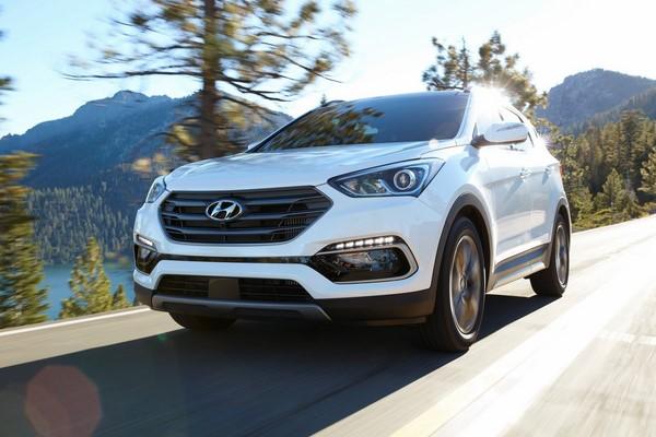Giá xe Hyundai SantaFe tháng 10/2018