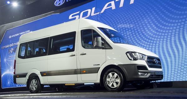 Giá xe Hyundai Solati tháng 9/2018