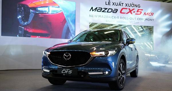 Bảng giá bán xe Mazda CX 5 2018 tháng 10