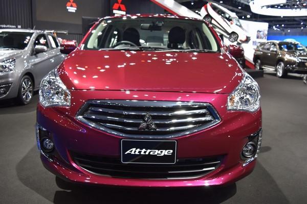 Giá xe Mitsubishi Attrage tháng 10