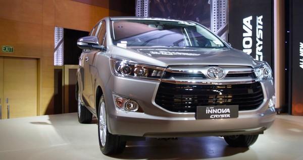 Giá xe Toyota Innova tháng 9/2018 không thay đổi